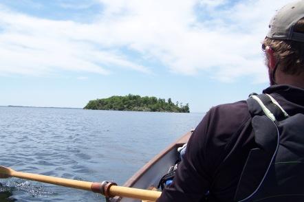Crossing Lake Ontario, Kingston.