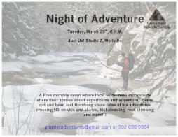 Winter Adventures with Joel Hornborg