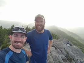 Having met at Acadia University in beautiful Nova Scotia, Dan and Dave became quick friends. After nearly 15 years of friendship we have logged many miles on trails, in life and look forward to covering 45 more.